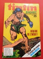 TINTIN POCKET SÉLECTION n°25 - Lombard 1974. TBE