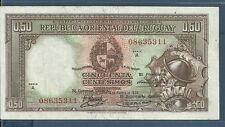 Uruguay 50 Centesimos, L 1935, P 27b, VF