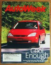 AUTOWEEK 1999 SEPT 06 - BUCKSHOT, NEW FORD FOCUS, S500