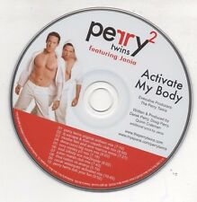 Perry Twins Activate My Body Featuring Jania Limited 2007 Promo Remixes CD