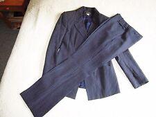 bel ensemble , tailleur ; veste et pantalon, NAF-NAF,  bleu  marine , T.38