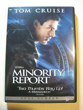 Dvd - Minority Report (2002) - Tom Cruise - 2 Disc Set - Guaranteed