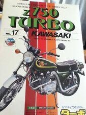 RARE Union Z750 Turbo Kawasaki Model Kit 1:15 M-17 Motorcycle Sealed Bags Bike