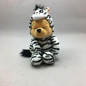 Winnie The Pooh Plush Stuffed Animal Toy Walt Disney Zebra Costume