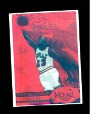 CUSTOM RROXY NOVELTY STICKER 1997 Precious Metal Gems Michael Jordan PMG RED