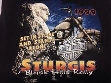 Vintage Harley Davidson 1999 Sturgis Black Hills Rally 2-sided Medium Tank Top