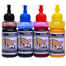 Dye sublimazione Set Ricarica Inchiostro con tagli Epson Ecotank GAMMA FREE Custom profilo ICC