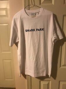NWT Mens White Snark Park T Shirt Medium Kith Tee
