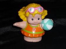 Fisher Price Little People Girl Swim Sarah Beach Ball