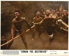 CONAN THE DESTROYER - 1984 - orig 8x10 Lobby Card #5 - ARNOLD SCHWARZENEGGER