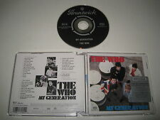 THE WHO/MY GENERATION(MCA/088 113 182-2)CD ÁLBUM