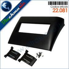 Mascherina supporto autoradio ISO Fiat Stilo (2001-2007) colore nero