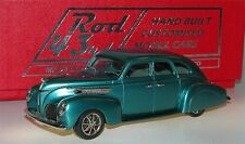 Brooklin ROD 03, 1938 Lincoln Zephyr 4-Door, Custom Car, turquoise, 1/43
