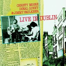 Live In Dublin - Christy Moore Donal Lunny & Jimmy Faulkner - Brand New Irish CD