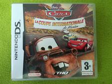 CARS LA COUPE INTERNATIONALE DE MARTIN - Jeu complet Nintendo DS - Jeu DS