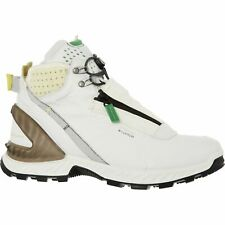 £220 ECCO Exohike White Dyneema Waterproof Cushioned Padded Mid Trainers UK 7.5