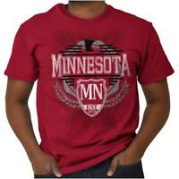 Minnesota Traditional Tourist Travel Gift MN Short Sleeve T-Shirt Tees Tshirts