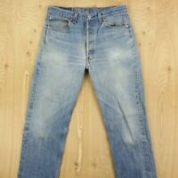 vtg faded & distressed usa made LEVI'S 501 jeans 32 x 31 (35 x 34 tag) stf v