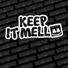 "MARSHMELLO KEEP IT MELLO 6"" V2 DJ EDM RAVE MELLOWING PLUR 11 Color Options"