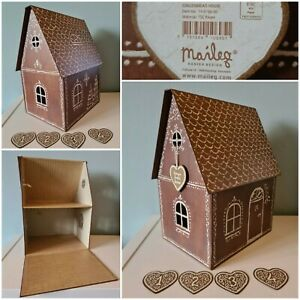 Maileg Mouse Mice Gingerbread Brown Play House H36x W26xD20CM New + 4x Gift Tags