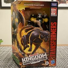 Transformers Generations War for Cybertron Kingdom Shadow Panther Deluxe Loose