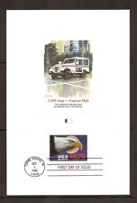 US SC # 2394 Express Mail  FDC. Fleetwood Proofcard Edition.