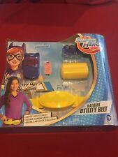 DC Super Hero Girls Batgirl Utility Belt Hero Wear Dress Up Cosplay NEW MIB