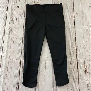 Free People Movement Athletic Yoga Pants Women's L Solid Black