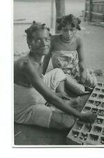PHOTOGRAPHIE ANCIENNE AFRIQUE JOUEUSES DE KATRA SAKALAVA MADAGASCAR 1940