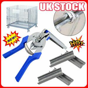Type M Nail Ring Pliers Hog Ring Pliers Kit UK STOCK UO