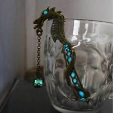 Glowing Dragon Bookmarks Luminous Bead Glow In The Dark  Petals Beads hair clasp