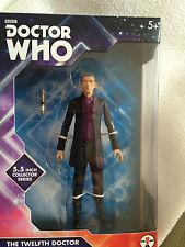 Doctor Who 12 doctor Peter Capaldi con púrpura Camisa De 5.5 Pulgadas Figura Set