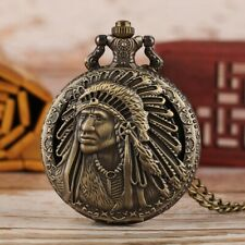 Vintage Bronze Indian Head Pocket Watch! What'S In Your Pocket?