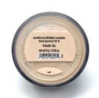 BareMinerals bareescentuals Loose Face Powder original  Foundation Fair 01 XL 8g