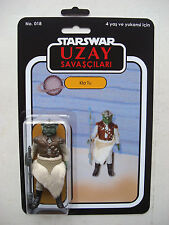 VINTAGE STAR WARS KLAATU FIGURE on CUSTOM UZAY SAVASCILARI CARD