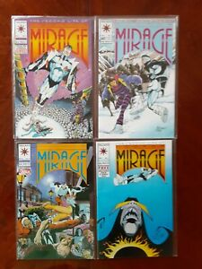 THE SECOND LIFE OF DOCTOR MIRAGE COMIC LOT of 4 Numbers 1, 2, 5 and 7. VERY NICE