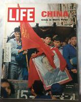 Life Magazine January 1967 China Crisis Mao's Purge