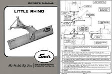 Servis Little Rhino Ditcher Terracing Blade Owners Manual