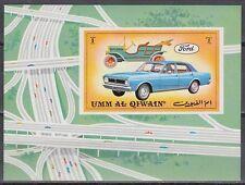 Vers Al qiwain 1972 ** bl.52 automobiles voitures Ford