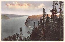 Canada Steamship Lines Cape Eternity and Saguenay River Quebec QUE 615