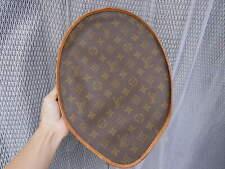 Louis Vuitton Monogram Canvas Racket Cover Case Holder Brown France Auth #3213P