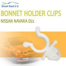 Hood Bonnet Rod Support Plastic Clip Clamp For Nissan Navara D21 D22 Ute