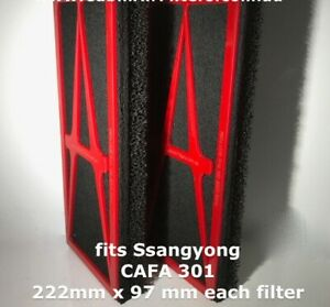 CABIN AIR  FILTER suits SSANGYONG  ACTYON 2006 -2017 BREATHE THE CLEANEST AIR