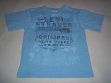Levi Strauss Original Denim Brand Est.1853 San Francisco Guitar T-Shirt Child 6