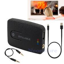 Bluetooth 4.0 3.5mm HiFi Stereo Audio Adapter Dongle Transmitter Sender iPod TV