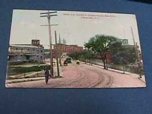 WASH. AVE. LOOKING TO GENERAL ELECTRIC MAIN OFFICE SCHENECTADY, NY 1911 POSTCARD