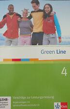 Green Line 4 Vorschläge zur Leistungsmessung Kopiervorlagen mit Lehrersoftware