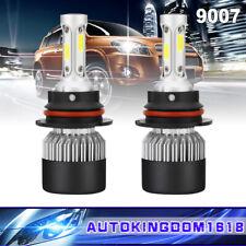 9007 Hb5 200W 40000Lm Cob Led Headlight Hi-Lo Beam Bulbs Xenon 6500K Fog Light(Fits: Neon)
