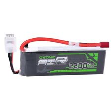 Ovonic 2200mAh 3S1P 11.1V 50C Lipo Battery For RC Helicopter Airplane Deans Plug