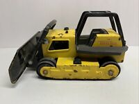 Vintage 1980s Tonka Pressed Steel Bulldozer Construction Vehicle Toy